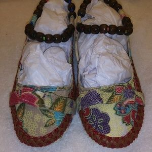 Shoes - Colorful Embroidered Beaded Chinese shoes